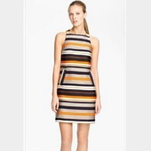 Trina Turk Multicolor Striped Dress